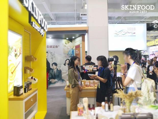 [스킨푸드 이미지1] 스킨푸드, 한·중 우호 주간 행사 성황리 종료…한국 브랜드 대표로 관계 개선 이바지.jpg