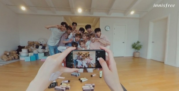 [이니스프리]컬러마스크x워너원 360도영상_영상컷1.jpg